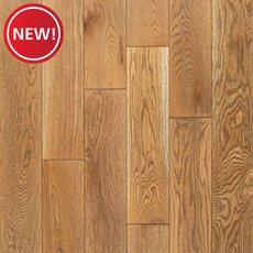 New! White Oak Cadiz Wire-Brushed Solid Hardwood