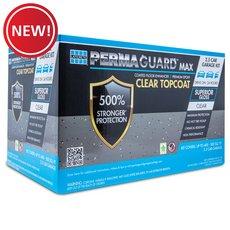New! Permaguard Max Clear Topcoat 2.5 Car Garage Kit