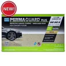 New! Permaguard Plus Beige 2.5 Car Garage Kit