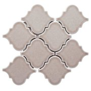 Heirloom Pewter Arabesque II Porcelain Tile