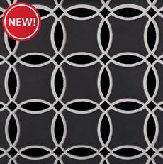 New! Iron Circulo Porcelain Mosaic II