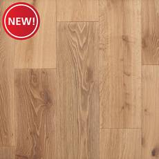 New! Tumbleweed White Oak Wire-Brushed Sawn Engineered Hardwood