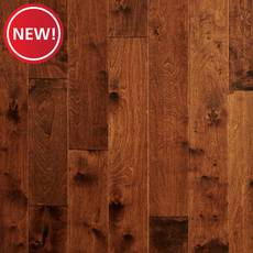 New! Amaretto Birch Handscraped Engineered Hardwood