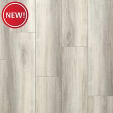 New! Peabody Gray Oak Rigid Core Luxury Vinyl Plank - Foam Back