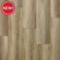 New! Peabody Natural Oak Rigid Core Luxury Vinyl Plank - Foam Back