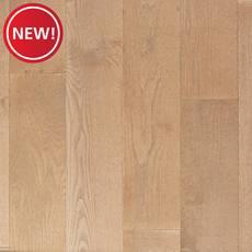 New! Serene White Oak Wire-Brushed Engineered Hardwood