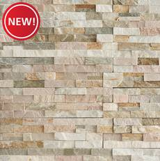 New! Beachwalk Splitface Quartzite Panel Ledger