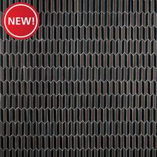 New! Metallic Lava Insignia Basalt Mosaic