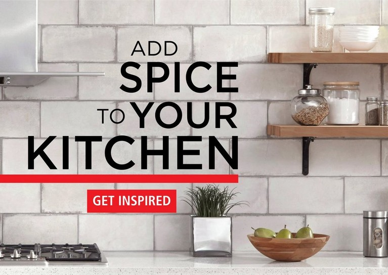ADD SPICE TO YOUR KITCHEN