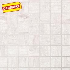 Clearance! Eramosa White Porcelain Mosaic