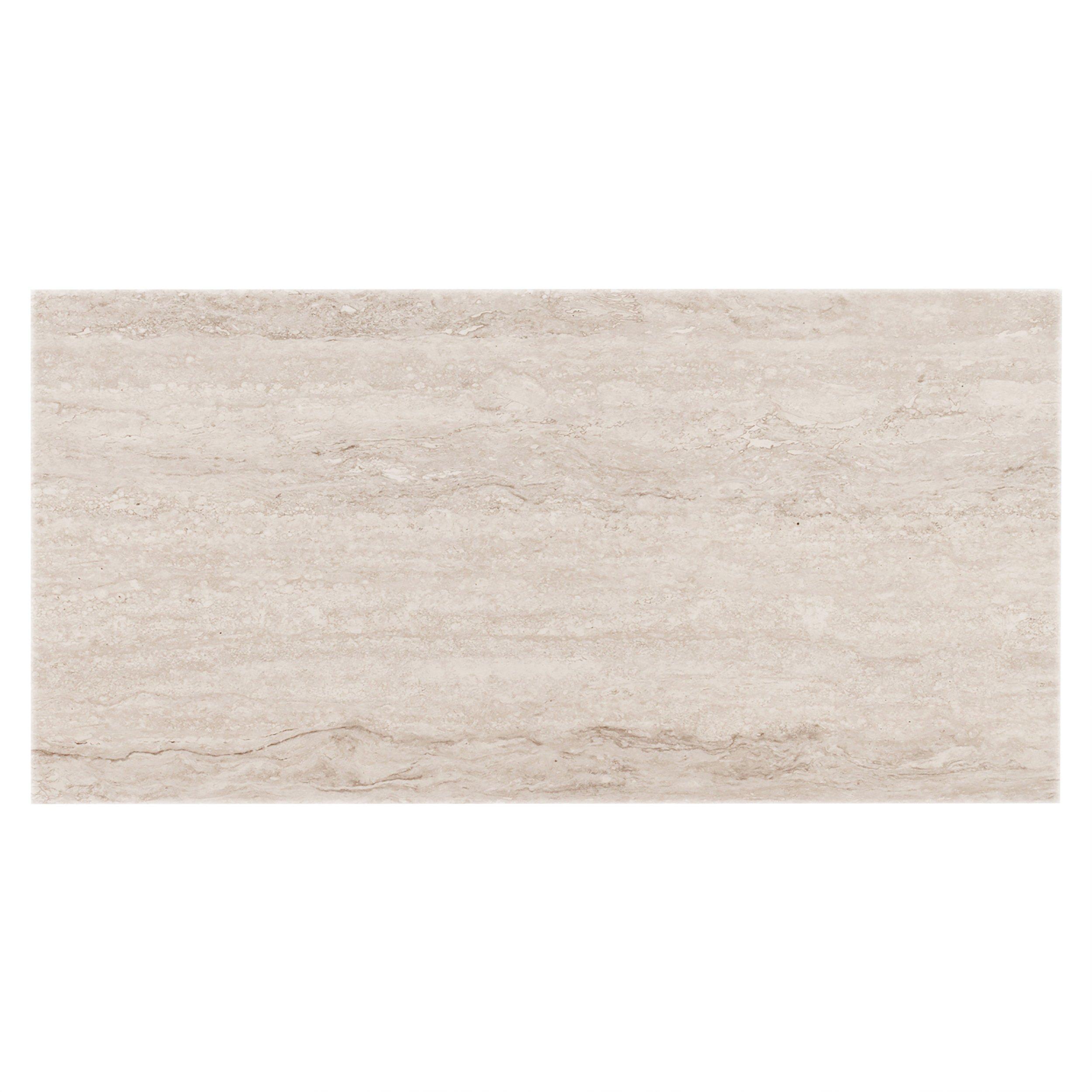 Forum Ivory Porcelain Bullnose 3 X 24 100047133