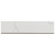 Carrara Polished Porcelain Bullnose