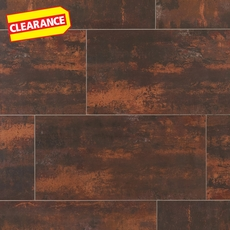 Clearance! Metallic Brown Porcelain Tile
