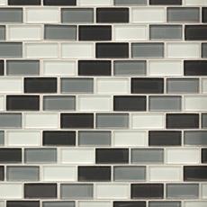 Dominica Brick Glass Mosaic