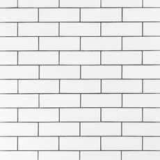 White Ice Subway Ceramic Wall Tile
