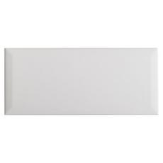 White Ice Beveled Ceramic Tile
