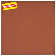 Clearance! Spanish Red Quarry Tile