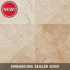 New! Caria Honed Travertine Tile