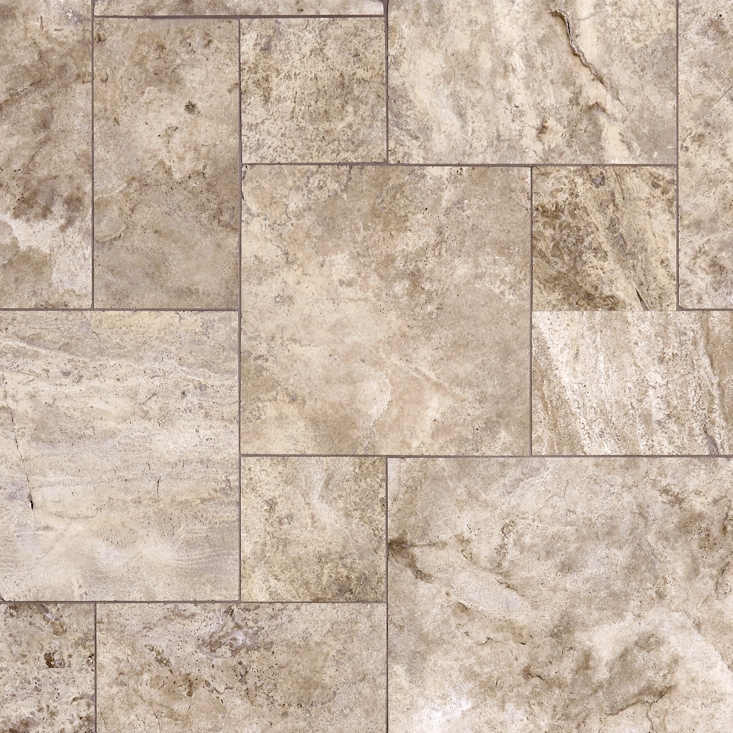 Ivory Light Honed Filled Travertine Tiles 18x18: Travertine Stone Tile
