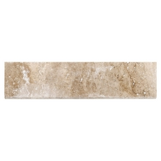 Karina Wavy Travertine Bullnose