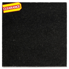 Clearance! Absolute Black Polished Granite Tile