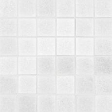 Maravilla Crystal White Square Polished Marble Mosaic