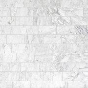 Bianco Carrara Polished Marble Wall Tile