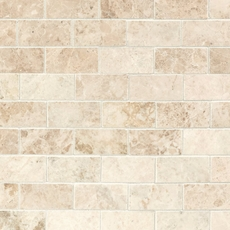 Cappuccino Beige Brick Marble Mosaic