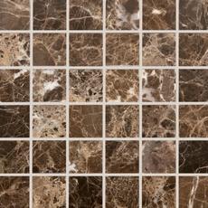 Dark Emperador Marble Mosaic