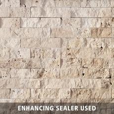 Beige Brick Travertine Mosaic