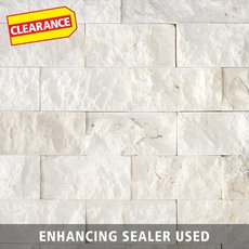 Clearance! Pearl Brick Marble Mosaic