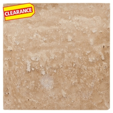 Clearance! Caramelo Honed Cushion Travertine Tile