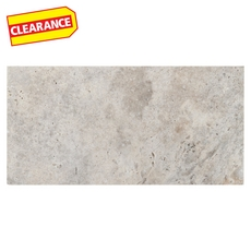 Clearance! Argento Brushed Travertine Tile