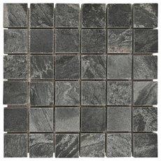 Silver Gray Slate Mosaic