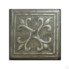 Metallic Nickel Silver Resin Decorative Insert