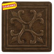 Clearance! Metallic Bronze Resin Decorative Insert