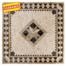 Clearance! Aruba Travertine Medallion