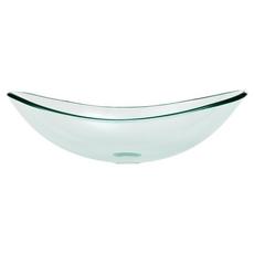 Oval Glass Vessel Sink
