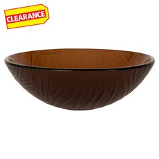Clearance! Round Glass Vessel Sink