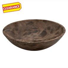 Clearance! Dark Emperador Polished Marble Sink