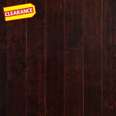 Clearance! Sangria Birch Hand Scraped Engineered Hardwood