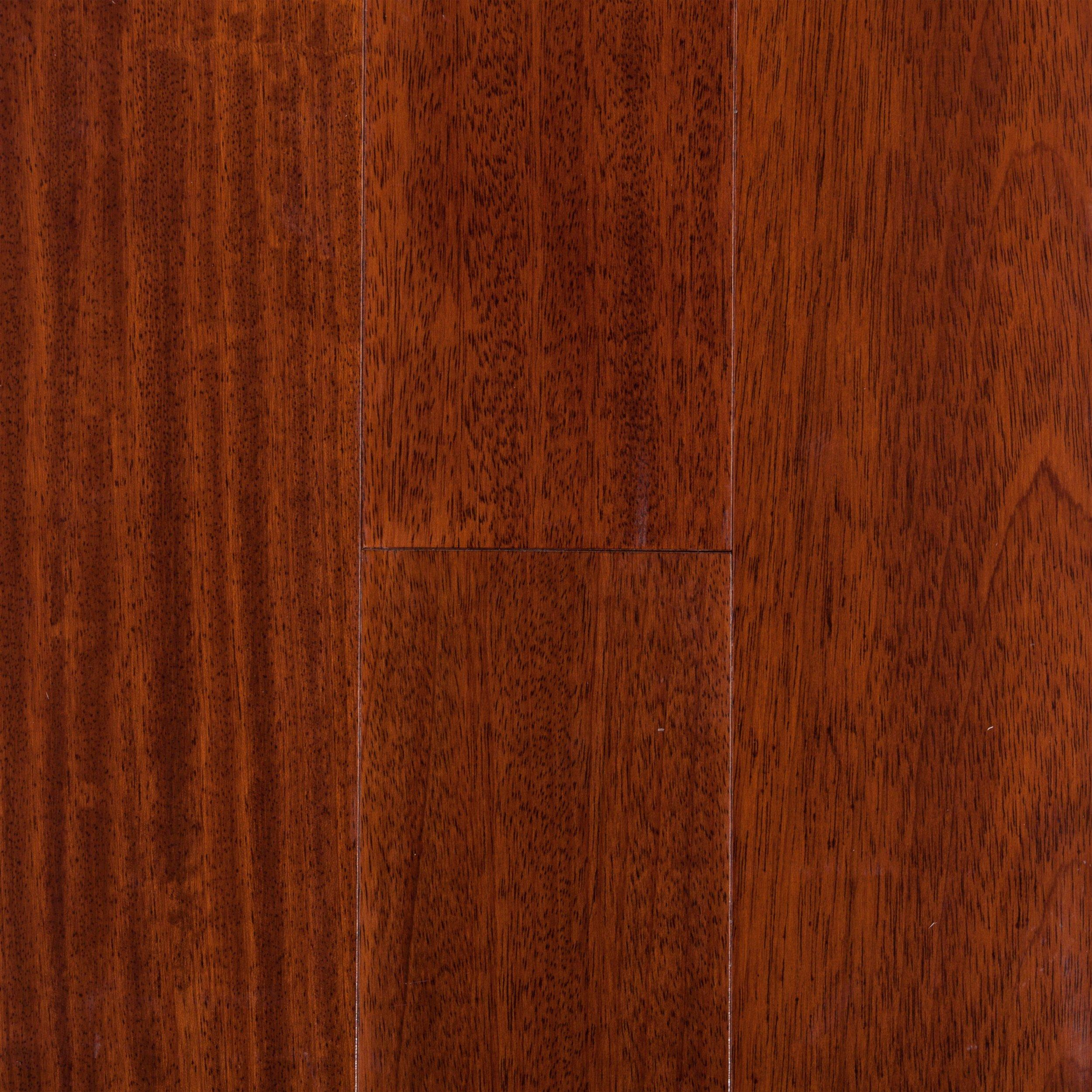 cherry hardwood floor. Natural Brazilian Cherry Smooth Engineered Hardwood Floor