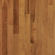 Smoky Topaz Hickory Smooth Solid Hardwood