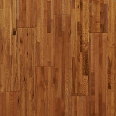 Timberclick Natural Oak Wire Brushed Solid Hardwood
