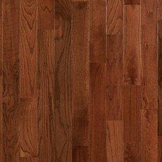 Gunstock Oak Smooth High Gloss Solid Hardwood