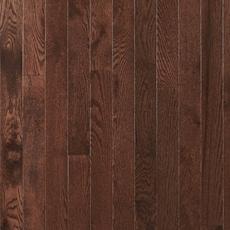Dark Mocha Oak Smooth Solid Hardwood
