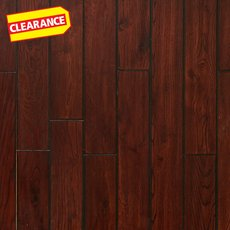 Clearance! Imperial Oak Locking Hand Scraped Solid Hardwood