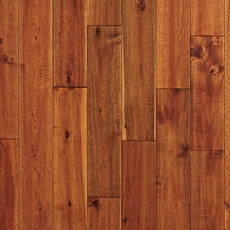 Gold Topaz Acacia Hand Scraped Solid Hardwood