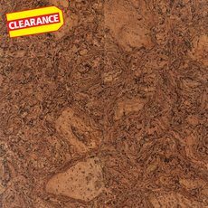Clearance! Jazz Beveled Edge Natural Cork Plank