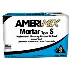 Amerimix Masonry Cement and Sand Mortar AMX 500 S